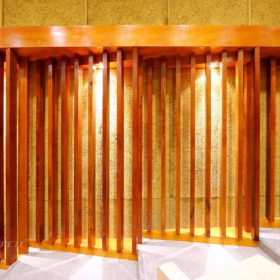 鑽泥板綠建材_台北中國科技大學 國際會議廳