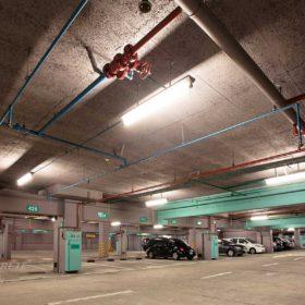 鑽泥板綠建材_台北 中正紀念堂兩廳院地下停車場