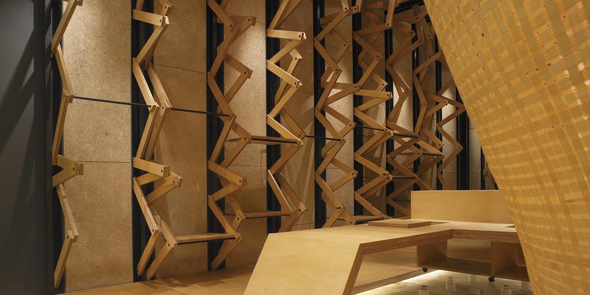 鑽泥板設計案例_台北101 Natural Laundry 服飾,設計單位&照片提供 : 竹間聯合建築師事務所/簡學義建築師。