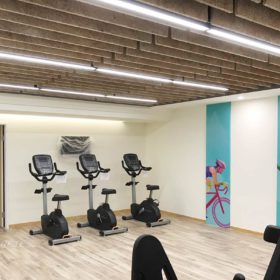 鑽泥板綠建材_新北市三重舞蹈教室健身房