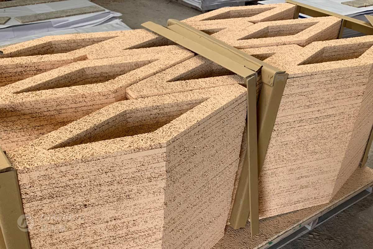 鑽泥板客製造型裁切