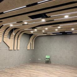 新北 台灣電力公司烏來台灣電業文物館_鑽泥板裝飾型大板片造型天花板02